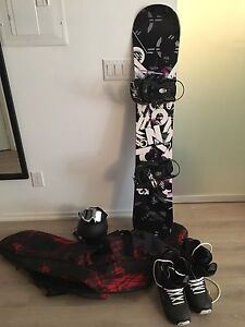 Women's Snowboard & Gear - $350 for the lot
