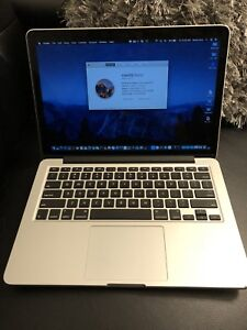 "MACBOOK PRO 13"" 2013 2.6GHZ INTEL CORE I5 8GB RAM 256SSD 850$"