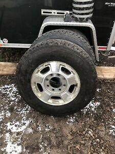 Gm 8 bolt rims with 245/75/r17 good year wranglers