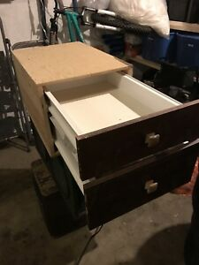 Small Cabinet - 2 Drawers
