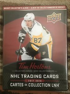 Tim Horton hockey card sets