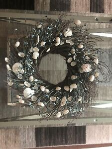 CONDO MOVING SALE: SHELL WREATH $10!! PICK UP TODAY