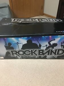 PS2 RockBand special edition