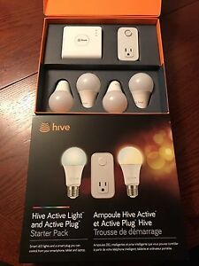 Hive wifi lights and wall plug in