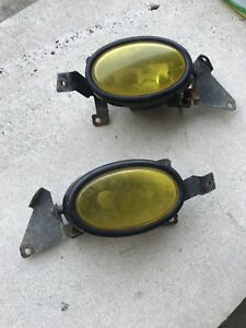 Acura RSX fog lights with yellow JDM glass