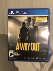Used PS4 A Way Out