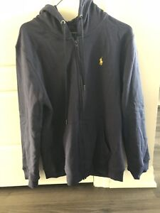 Polo hoodie large