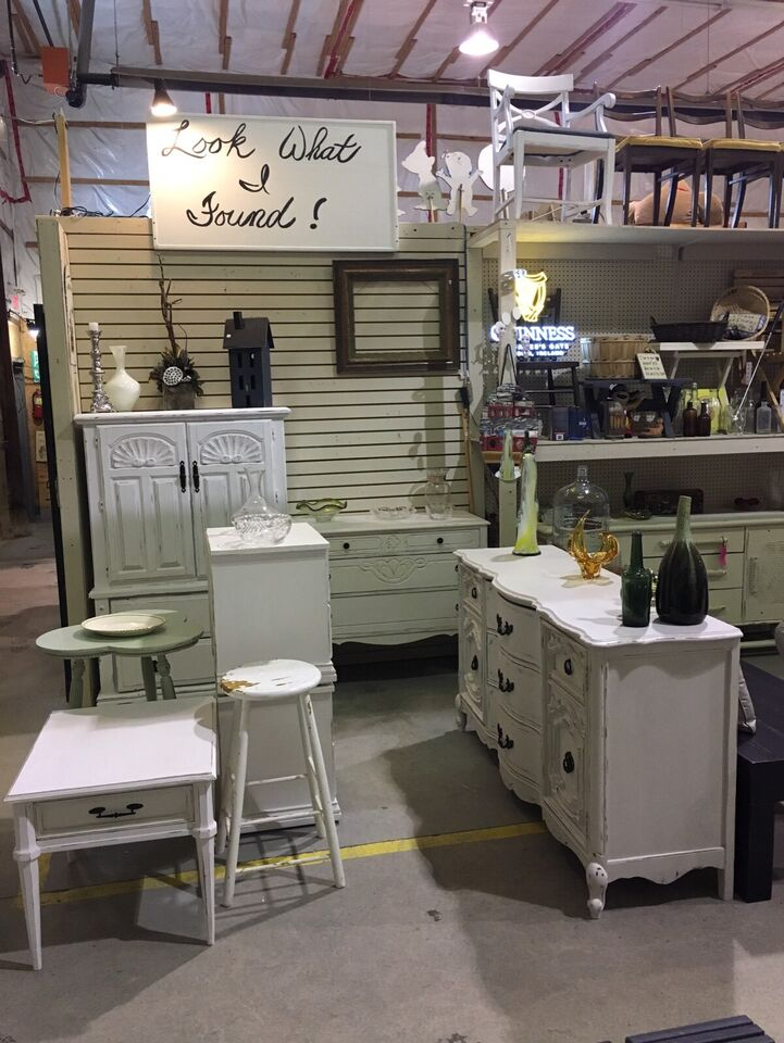Look What I Found  COURTICE FLEA MARKET - INSIDE BARN #3