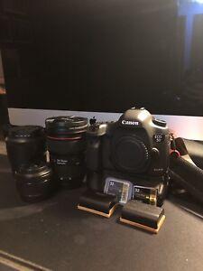 Canon 5D Mark III + Lenses & Accessories $4750 OBO