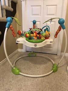 Assorted baby gear