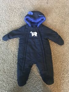 Baby snow suit 9-12 months