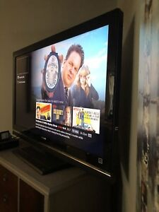 "46"" Sony flatscreen tv"