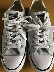 Mint Green Converse Size 8.5 Womens