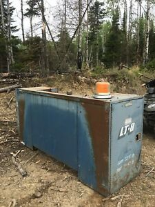 Welders steel fuel tank job box