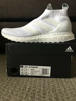 Adidas PURECONTROL 16+ triple white ultraBOOST Size US10