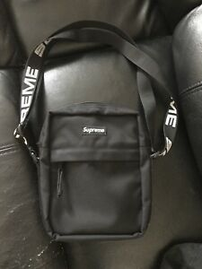 Supreme SS18 Shoulder Bag (Black)