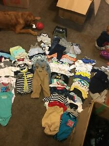 0-6 months baby brand name summer clothes