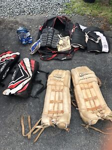 Goalie gear $20 OBO