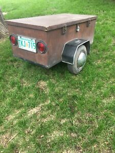 Small motorcycle trailer