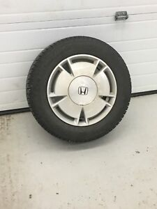 Michelin x ice XI3 winter tires with factory Honda Rims