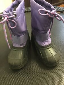 Winter boots, kids size 10