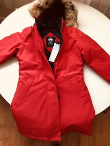 New canada goose victoria parka small red