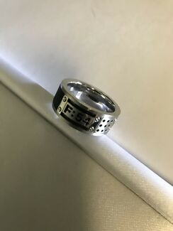 Stainless steel gents ring Wishart Brisbane South East Preview