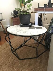 Marble pentagon coffee table Kings Cross Inner Sydney Preview