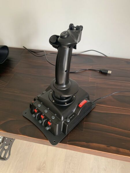 HOTAS Vkb Gladiator mk1 and TWCS Throttle   Computer Accessories