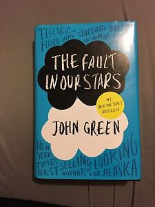 The fault in our stars-hardcover