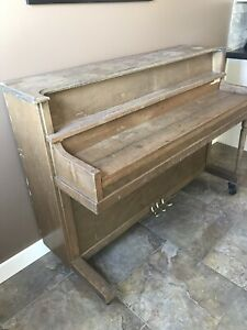 Piano project. PICK UP ONLY