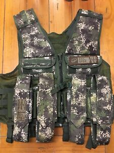 Planet Eclipse Paintball Tactical Load Vest / Pod Pack