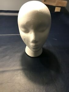 Styrofoam wig holder