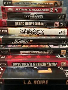 PS3 Games In Great Condition