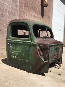 47 Ford cab, grill & head lights trade for motorcycle project