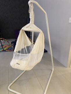 Medium image of amby baby hammock  white   u0026 miyo hammock