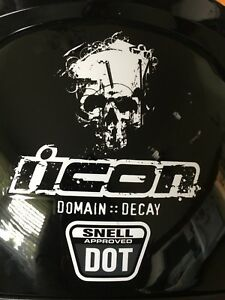Icon Motorcycle Helmet