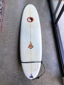 6'8 Mini Mal surfboard