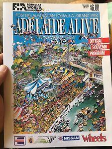 1987 Adelaide Grand Prix program Angle Park Port Adelaide Area Preview