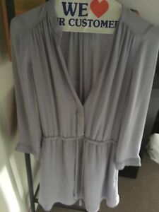 Aritzia Bennet Dress Lavender-XS