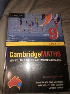 Cambridge Maths Year 9 book Gunnedah Gunnedah Area Preview