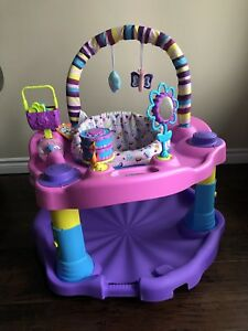 Exersaucer Bounce and Learn Sweet Tea Party