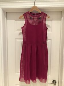 MARCIANO youth size 12 - 14 girls holiday / party dress