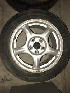 1993 Mazda RX7 FD3S super light wheels!! BEST OFFER, GOTTA GO