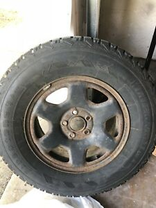 Winter Tires P235-70-R16 (like new)
