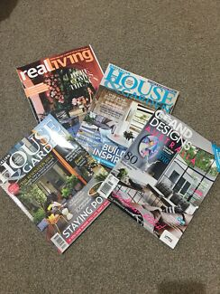 Home magazines real living house and gardens grand designs