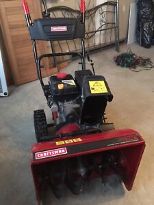 """Craftsman 24"""" Snowblower with Self propelled and Electric Start"""