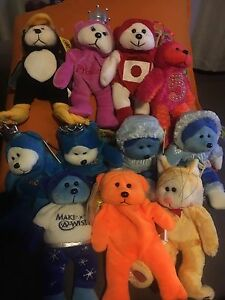 11 x beanie kids bulk or single buy rare mint condition Maribyrnong Maribyrnong Area Preview