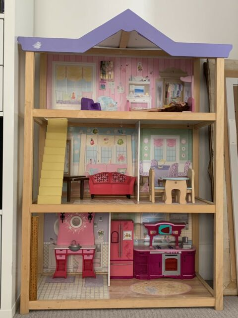 Dolls House Barbie Size Including Furniture Toys Indoor Gumtree