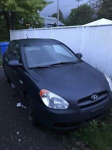 Hyundai accent 2009 route ou piece